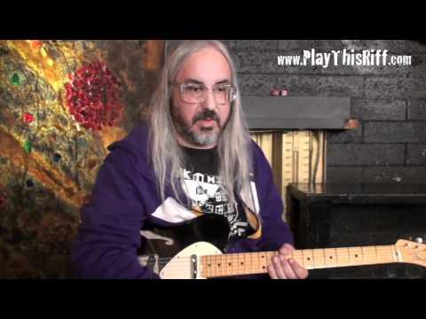 DINOSAUR JR. Guitar Lesson/ Interview for PlayThisRiff.com