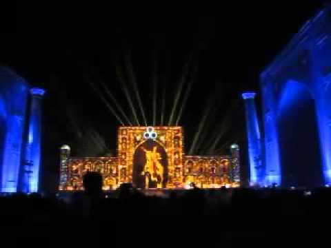 International Music Festival «Sharq taronalari» 2015 Uzbekistan, Samarkand,  Registan