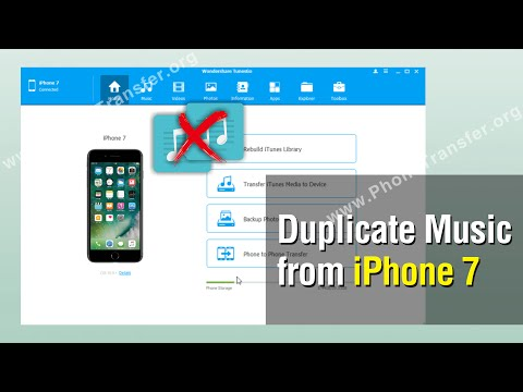 How to Remove Duplicate Music from iPhone 7, Delete Extra Songs on iPhone 7