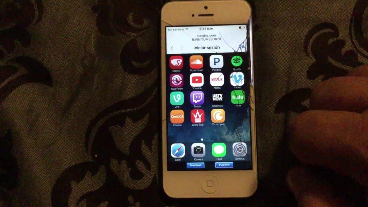 iCloud Bypass iHax DNS iPhone iPad iPod iOS 9 3 unlock desbloqueo nuevo  DNS: 104 154 51 7