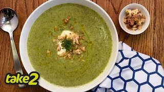 Broccoli Soup Recipe With Toasted Walnuts - Woolworths Take 2