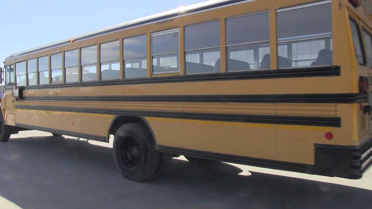 Blue Bird Bus >> 2002 Freightliner Blue Bird FS65 72 passenger - YouTube