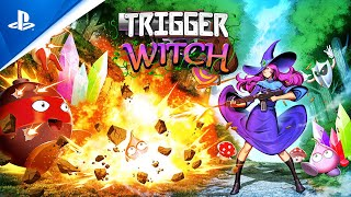 Trigger Witch - Launch Trailer | PS4