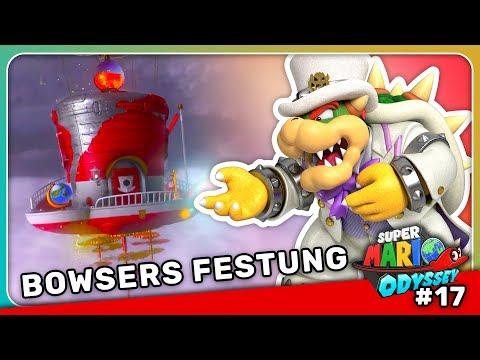 Die Odyssey steuert auf Bowsers Festung zu!   Super Mario Odyssey Let's Play #17