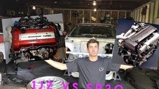 Lets Talk Engines 1JZ VS sr20!