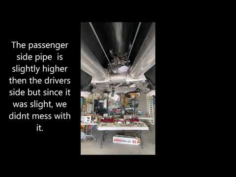 1964-66 Thunderbird Exhaust System Installation
