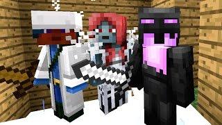 МАМА ПАПА Я :) С РОДИТЕЛЯМИ В МАЙНКРАФТ ! Выживание, Летсплей. Minecraft PE 1.0.1 на Телефоне