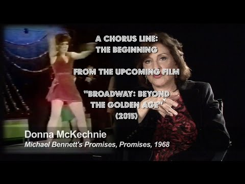 A CHORUS LINE: THE BEGINNING - FROM RICK McKAY'S BROADWAY FILM TRILOGY
