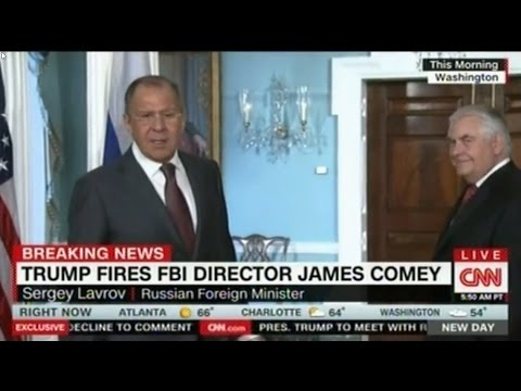 Russian Foreign Minister Lavrov laughing at FBI Comey being fired:  Sen Lindsay wants them punished