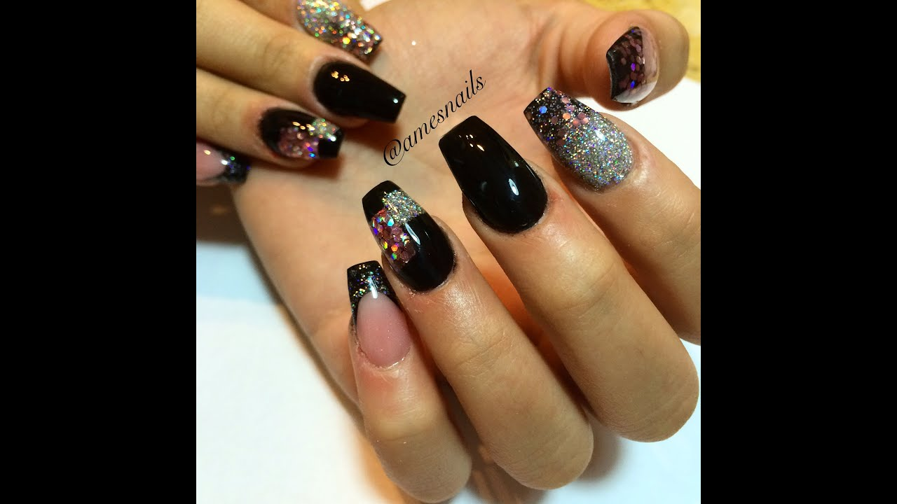 New Years Nails - YouTube