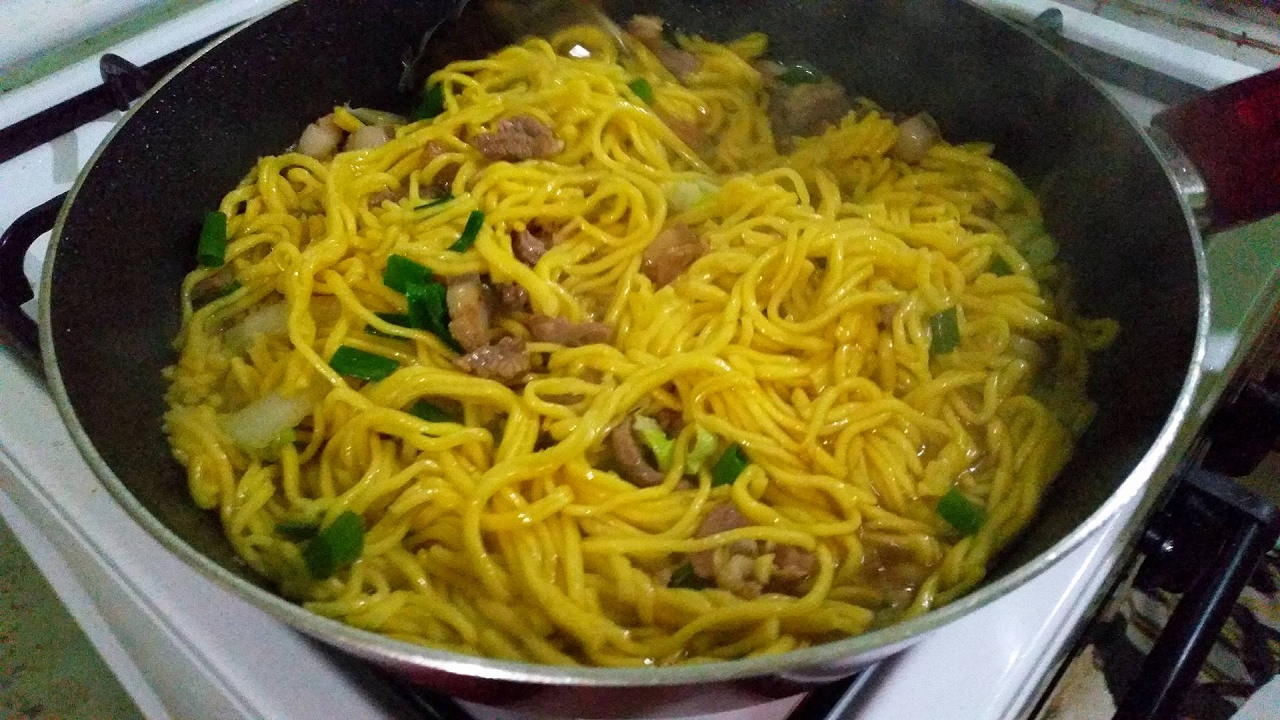 How To Cook Pancit In 3 Minutes [egg Noodles]