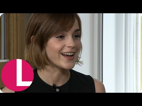 Emma Watson's Embarrassing Ringtone Revealed When Her Phone Goes Off Mid-Interview! | Lorraine