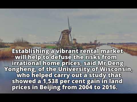 Xi Jinping seeks to tame China's wild property market with rental push