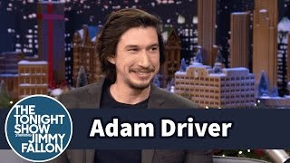 Adam Driver Gives His Star Wars Figurines as Gifts