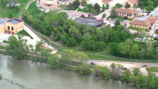 Aerial Missouri River East Bank May 29, 2011