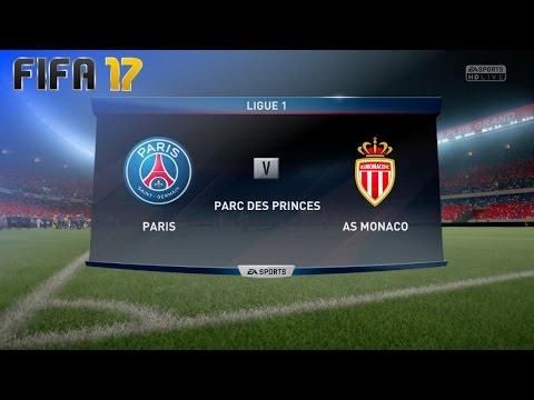FIFA 17 - Paris Saint Germain vs. AS Monaco @ Parc des Princes