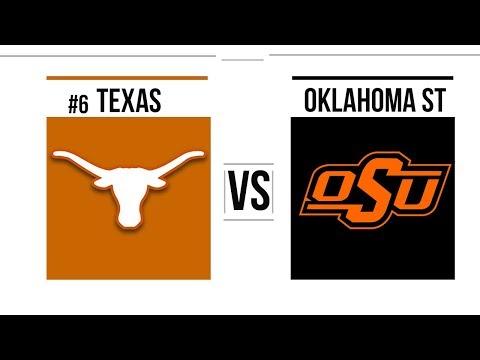Week 9 2018 #6 Texas Vs Oklahoma State Full Game Highlights