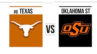 Week 9 2018 #6 Texas vs Oklahoma State Full Game Highlights