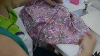 Diy: Alças de rolotê na cintura do vestido