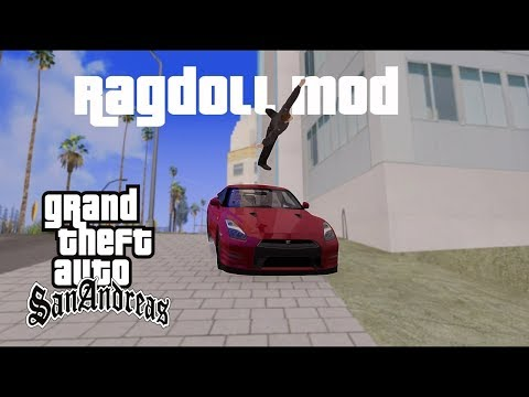 How To Download And Install GTA SA Ragdoll Mod  by TECH JATIN  