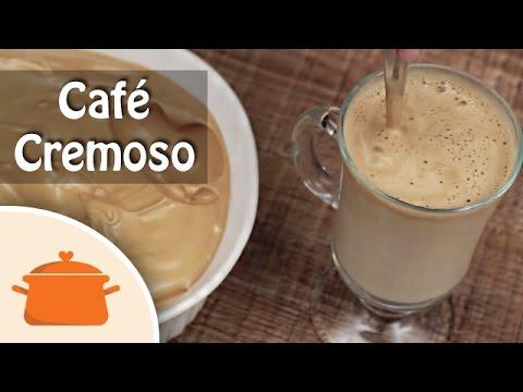 como-fazer-café-cremoso-igual-de-cafeteria---culinária-rápida-em-casa