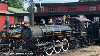 Whiskey River Railroad: Grand Scale Steam Fire Up