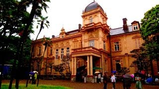 旧岩崎邸庭園 日本庭園 洋式建築物 Old House Gardens Iwasaki   東京 上野