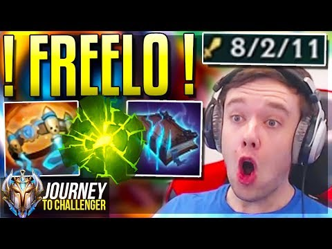 RIOT COMPLETELY OVERBUFFED THIS CHAMP - Journey To Challenger  LoL