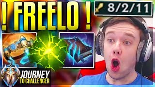 RIOT COMPLETELY OVERBUFFED THIS CHAMP!! - Journey To Challenger   LoL