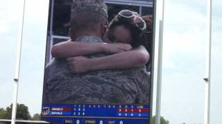 Greatest Marriage Proposal Ever - Kansas City Royals Baseball Game (Eddie and Celi)