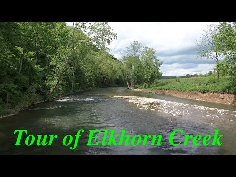 My Tour Of Elkhorn Creek, In And Around The Frankfort Kentucky Area.