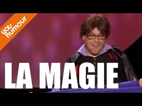 Jean Lou DE TAPIA, La magie