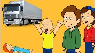 Caillou Destroys Rosie with a Truck/Ungrounded