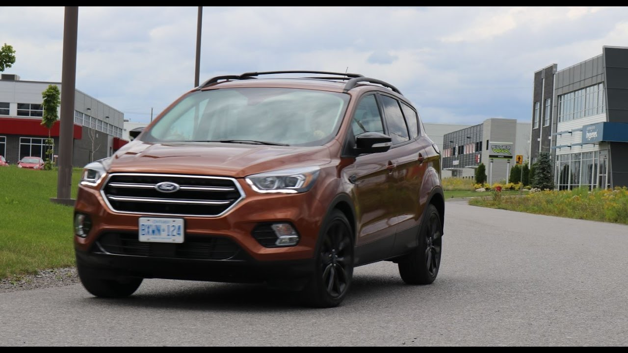 2017 ford escape titanium sport specs and road handling doovi. Black Bedroom Furniture Sets. Home Design Ideas