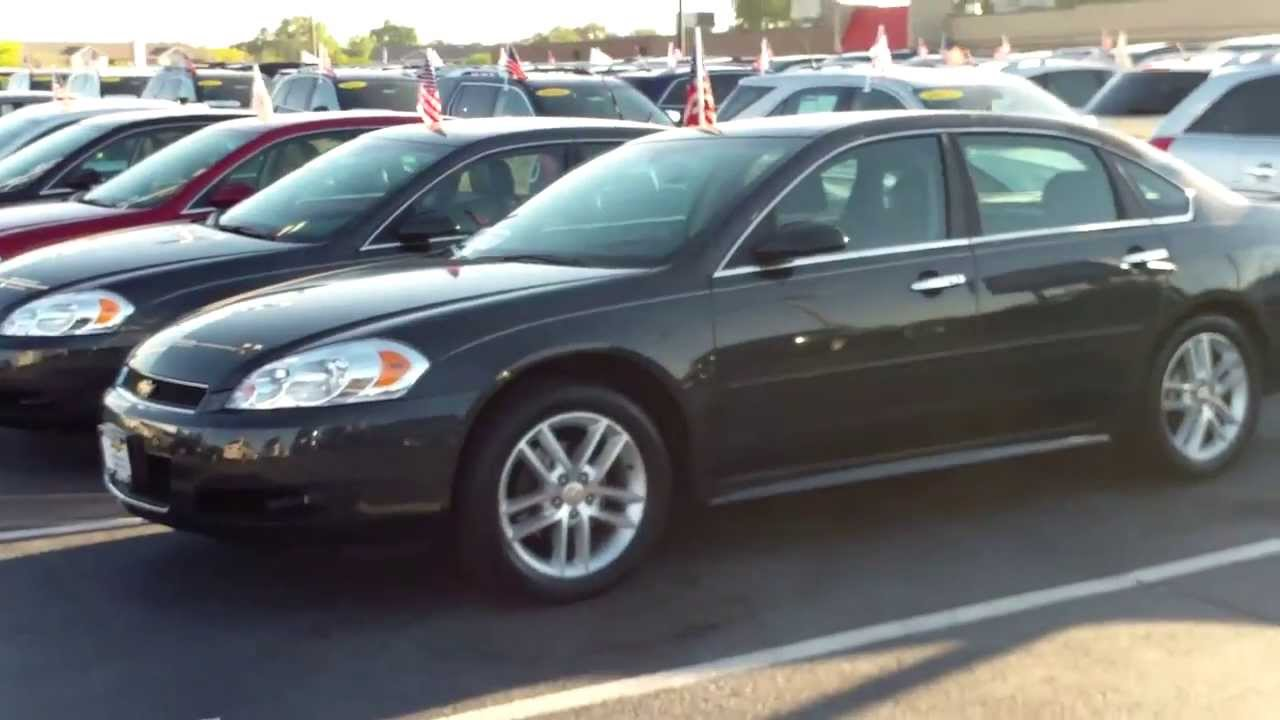 2013 Chevy Impala LTZ At Apple Chevrolet In Tinley Park, IL