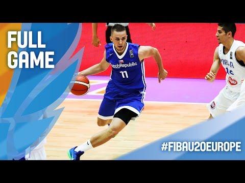 Italy v Czech Republic - Full Game - FIBA U20 European Championship 2016