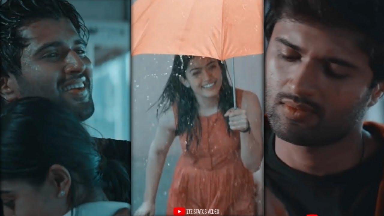 Baarish Ban Jaana Full Screen Status 😘 Vijay deverkonda and Rashmika mandanna WhatsApp status