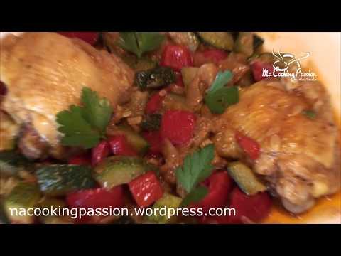 poulet-sauté-aux-courgettes-et-aux-poivrons-30-minutes-chrono-(-adaptable-multicuiseur)