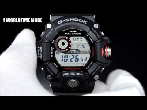G-SHOCK MASTER OF G RANGEMAN GW-9400 Demonstration Gショック レンジマン デモンストレーション