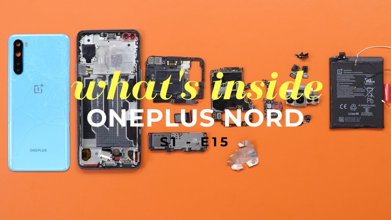 OnePlus Nord Teardown - Made in India ? Secretly Waterproof !