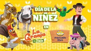 Día de la Niñez en Argentina 🎁 ¡Encuentra el Regalo Ideal de La Granja de Zenón! 🎁