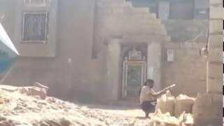 Luckiest Yemeni Fighter on the Planet - Bullet on each shoulde…