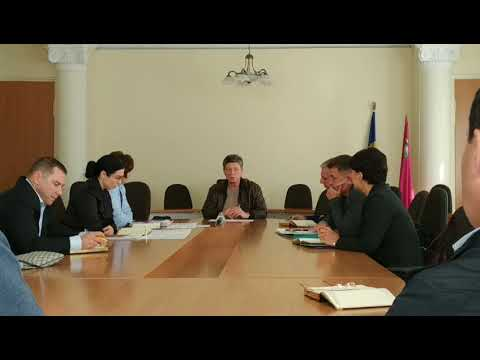 Мэр Новомосковска провел первое заседания исполкома 27.09.2019