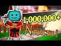 Roblox NINJA ASSASSIN Simulator (ONE MILLION Ninjutsu) Weapons and Powers