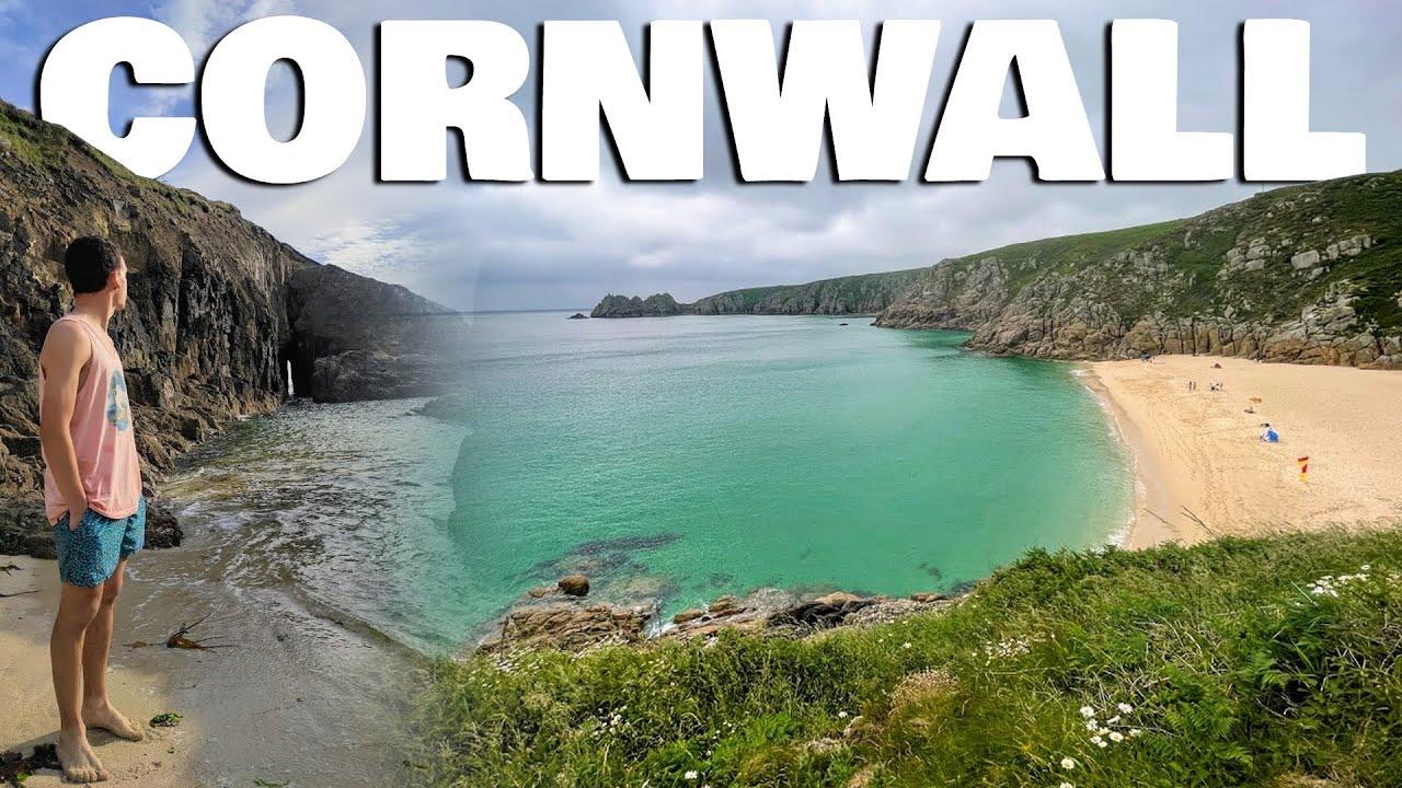 No pensaba encontrar estas PLAYAS en INGLATERRA - Cornwall: datos, historias y lugares