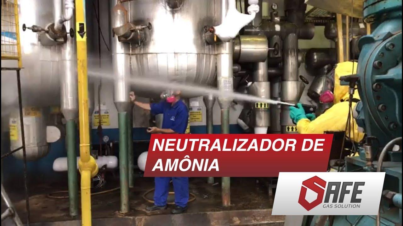 [NEUTRALIZAÇÃO DE AMÔNIA] - SAFE MOBILITY SYSTEM 10L