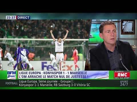 After Foot du jeudi 23/11 - Partie 2/3 - Débrief de Konyaspor/Marseille