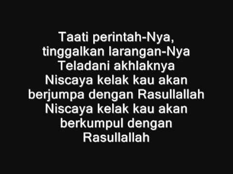Haddad Alwi, Anti,   Vita   Rindu Muhammad Ku Lirik