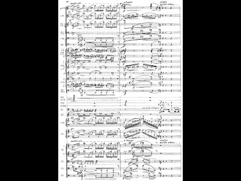 Three Pieces for Orchestra, Op6  Alban Berg Audio + Full Score