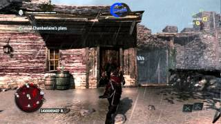 Assassins Creed 4 | Infiltrate Fort - Steal Chamberlaine's Plans | Walkthrough